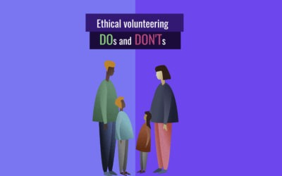 The dos and don'ts of volunteering!